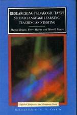 Researching Pedagogic Tasks (Applied Linguistics and Language Study)-ExLibrary