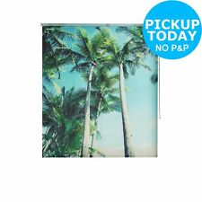 HOME Palm Tree Daylight Roller Blind - Choice of Width. From Argos on ebay