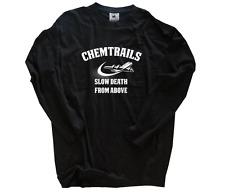 Chemtrails LENTO Death From Above verschwörungstheorie camiseta S-XXXL Nuevo