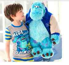 Large Disney Pixar Monster Inc University Sulley Sully  Plush Stuffed Doll Toys