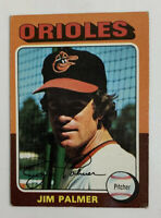1975 Jim Palmer # 335 Topps Baseball Card Baltimore Orioles HOF