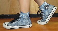 Coverse Blue Jean Paisley womens size 7 womens shoes