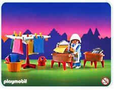 PLAYMOBIL 6526 Lavandera Victoriana, Washerwoman, Navidad, Christmas, NUEVO/ NEW