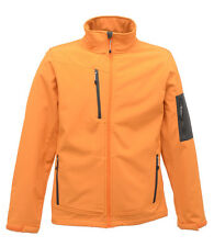 Regatta 3 Layer Fabric Soft Shell Jacket Wind proof Breathable Water Repellent