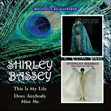 Shirley Bassey This Is My Life/Does Anybody Miss Me 2on1 CD NEW SEALED Remaster