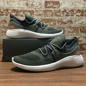 TIMBERLAND MEN'S FLYROAM™ GO KNIT SNEAKERS DARK GREEN STYLE A1O9N SIZE 13
