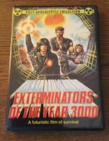 EXTERMINATORS OF THE YEAR 3000 DVD (1983) MAD MAX ROAD WARRIOR POST APOCALYPSE