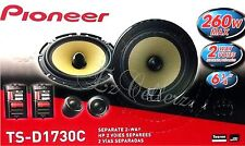"PIONEER TS-D1730C 6-3/4"" D-Series 2-Way Car Component System Pair Brand NEW"