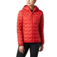 COLUMBIA Delta Ridge Down Hooded Jacket Red Lily 1875932 658/