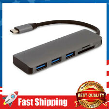 Usb-C Hub Expand w/ 3 Usb 3.0 Ports,Sd/Tf Card Reader,for Laptop & Other Devices