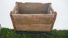 Super Rare Vtg 1930's OCONOMOWOC BREWING CO~A HEALTH BEER~Wood Crate~WISCONSIN