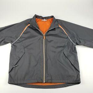 Emerge Training Jacket Large Men's Adult Athletic Performance Reflective Mesh