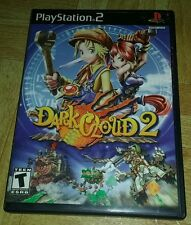 Dark Cloud 2 (Sony PlayStation 2, 2003) Complete PS2