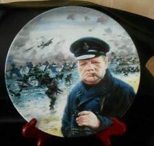Royal Doulton plate D-Day Landing We shall Fight on the Beaches by Graham Coton