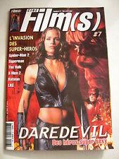 Cine Films 2 avec poster detache Daredevil tres bon etat