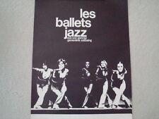 Les Ballet Jazz de Montreal posters (two) Vintage