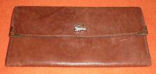 Lacoste große Geldbörse Portmonnaie Geldtasche aus Leder mehrere Fächer