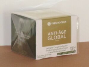 ANTI-AGE GLOBAL YVES ROCHER THE ANTI-AGING COMFORT CREAM NIGHT 50 ml NEW!