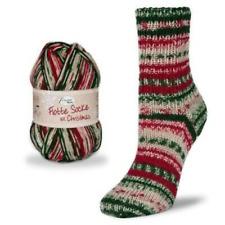 GL7060 Sockenwolle 150g,braun-rot-grau,6-fach,Rellana Flotte Socke 7,50€//100g