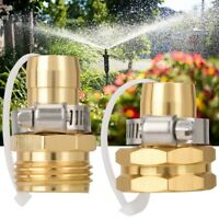 """3/4"""" Garden Aluminum Thread Hose Tap Adaptor Water Pipe Connector Tube Fitting"""