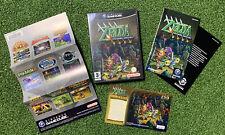 Nintendo GameCube The Legend Of Zelda FOUR SWORDS ADVENTURE Case And Manuals VGC