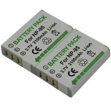 2x Battery for Fuji NP-95 F30 F30fd F31 F31fd 3D W1 X100 X100LE X100S X100T X-S1