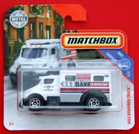 MATCHBOX 2019  ARMORED TRUCK    85/100   NEU&OVP