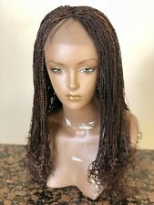 Braided lace wig wiith baby hair.Customize your wig..Chose your color & length.