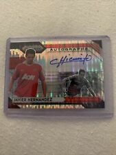 Breakaway Prizm Soccer 20-21 Javier Hernandez Chicharito Autograph Man United