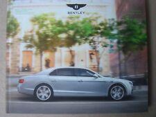 Bentley Flying Spur Katalog Prospekt
