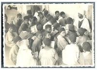 Algérie, Biskra (بسكرة), Sidi Okba. Ecole  Vintage silver print Tirage argenti