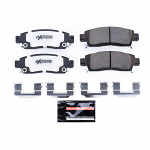 Power Stop for 08-17 Buick Enclave Rear Z26 Extreme Street Brake Pads w/Hardware