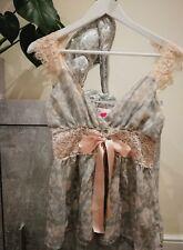 LIPSY LONDON Women's 100% Silk Floral Top Size S/M