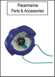Iris-50-Plastimo-Hand-Held-bearing-compass in Blue