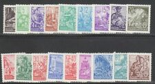 "GERMANY,EAST (DDR) STAMPS #155-171 --   ""WORKERS"" COMPLETE SET -- 1953 -- MINT"