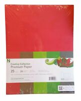 Neenah Creative Collection Premium Paper 8.5'' x 11'' 25 Sheets 24 lb Xmas Color