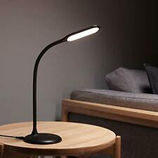 Cordless Lamp Battery Operated  LED Desk Lamp, Rechargeable Table Light Black