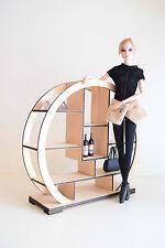 Furniture for Dolls 1:6 1/6 FR Barbie Shelf round modern handwork H 10 inch