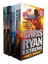 Chris Ryan Extreme Thriller 4 New Books 1 to 4 Hard Target Night Strike + 2