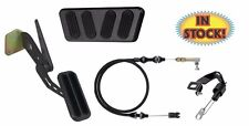 69-70 Mustang Midnight Black Pedal Kit for AutomaticTransmission - XBAG-6117