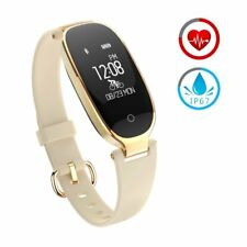Reloj Inteligente mujer  Fitness  Bluetooth Smartwatch Actividad Monitor Cardio