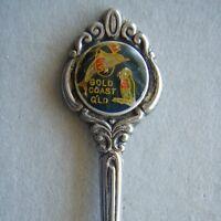Gold Coast Qld Dolphin EPA1 Souvenir Spoon Teaspoon