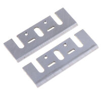2pcs Electric Planer Spare Blades Replace for 1900B Woodworking Tool Part