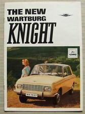WARTBURG KNIGHT Car Sales Brochure c1967