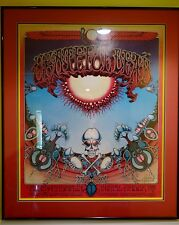Aoxomoxoa Framed First Printing Poster of Grateful Dead Signed by Rick Griffin