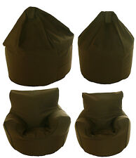 Adult or Children Size Bean Bag / Chair With Beans