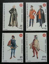 Malta Sovereign Military Order Traditional Costumes 1992 Uniform (stamp) MNH