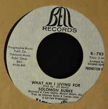 Solomon Burke Bell DJ 783 Proud Mary and What Am I Living For