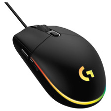 Logitech G203 Lightsync RGB Wired Optical Gaming Mouse - Black