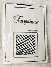 TRANSPARENZE Classic Fishnet Hosiery - Calze - Collants, Black